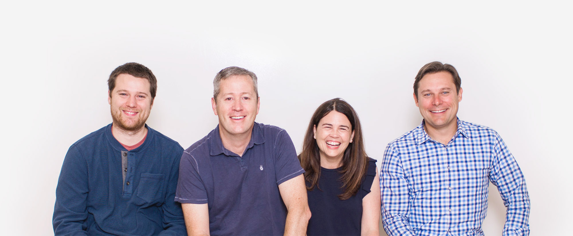 The Ladder Founders from left to right: Jack, Jamie, Laura, Jeff